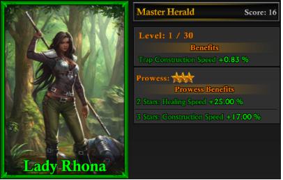 lady rhona