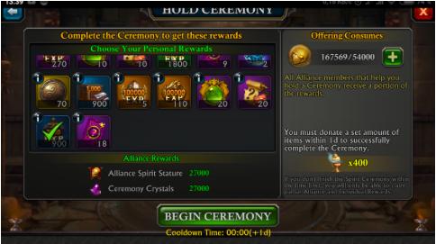 Ceremony in Avalon